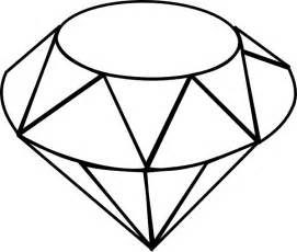 Gem Outline by Clip At Clker Vector Clip Royalty Free Domain