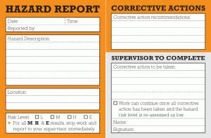 incident hazard report form template safety observation template pictures to pin on