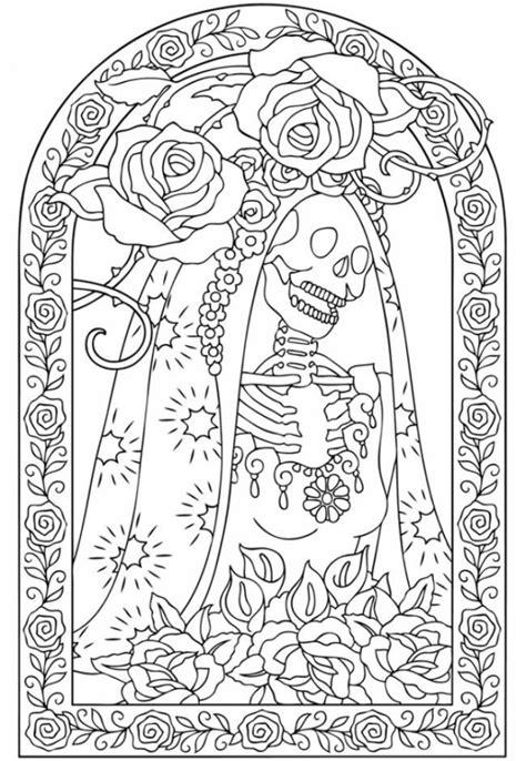 coloring pictures of dia de los muertos get this online dia de los muertos coloring pages a9m0j