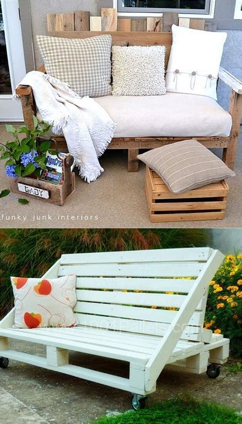 easy pallet sofas  coffee tables  diy