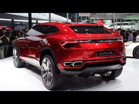 suv lamborghini interior 2018 lamborghini urus suv interior and exterior review