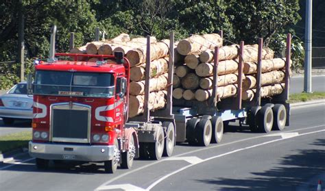 New Zealand Records New Zealand Softwood Log Exports Reach New Records For 2017