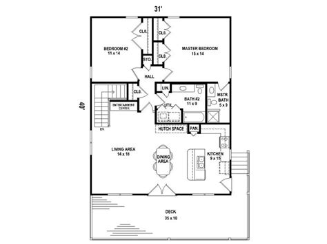 carriage house floor plans carriage house plans carriage house plan for a sloping or waterfront lot 006g 0109 at