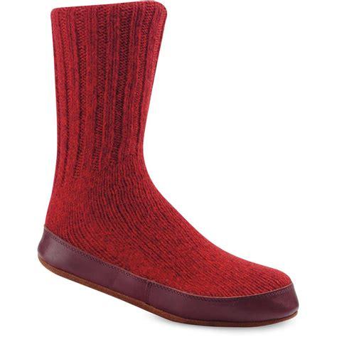ragg wool slipper socks kenco outfitters acorn s ragg wool slipper socks