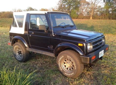 classic 1994 suzuki samurai for sale detailed description and photos