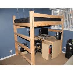 Loft Bed Kits For College Loft Beds Youth College Furniture Starting At 220