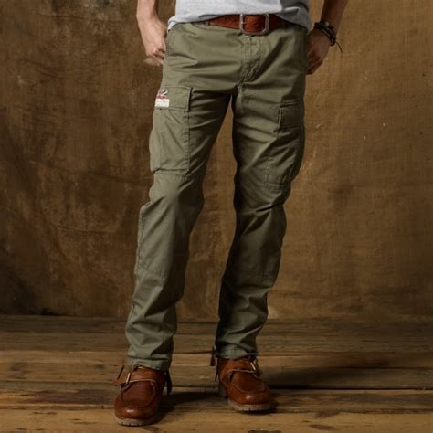Cargo Us Army Levi S Uniqlo Calvin Klein Alpha Adidas Jacket ralph cargo pant in green for lyst