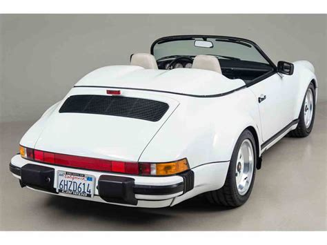 1989 porsche speedster for sale 1989 porsche 911 speedster for sale classiccars com cc