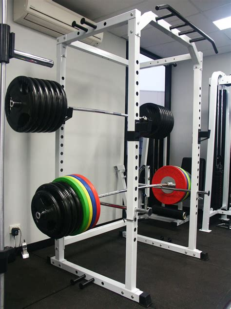 power squat rack cage 140kg olympic weight set