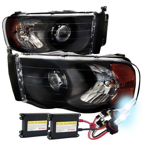 hid headlights dodge ram 2500 hid xenon 02 05 dodge ram 1500 2500 3500 projector