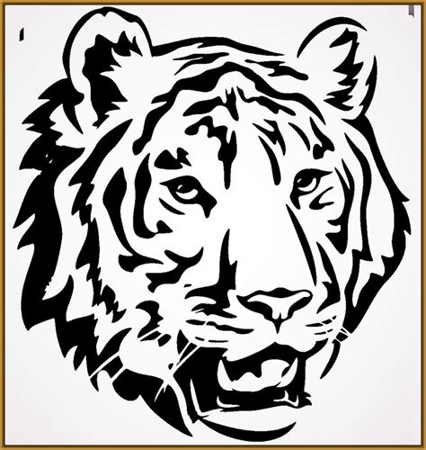 imagenes para pintar tigre cara de tigre para pintar archivos fotos de tigres