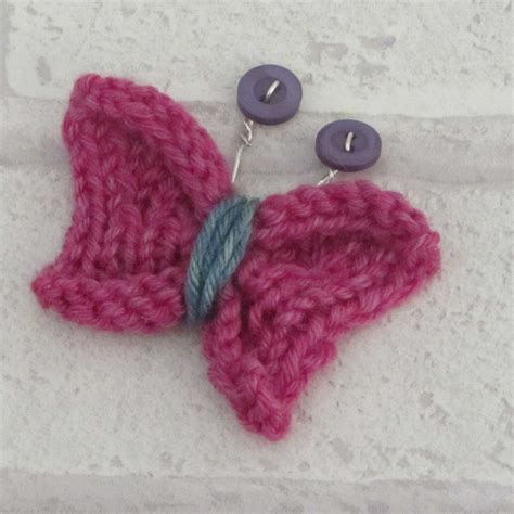 how to knit a butterfly knitted butterfly tutorial burns
