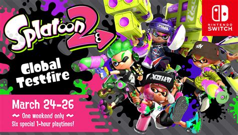splatoon 2 amiibo splatfest arena wii u nintendo switch guide unofficial books splatoon 2 free global testfire preview announced