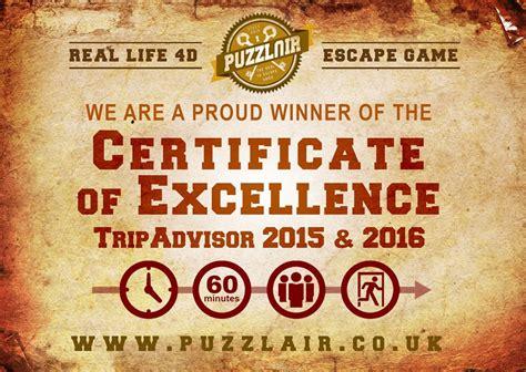 Quiz Room Bristol Puzzlair Escape In Bristol Wins Second Tripadvisor Award