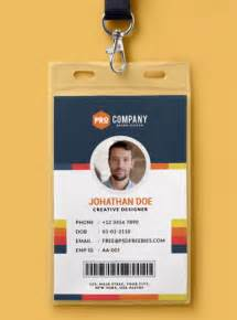 Employee Identification Card Template by 10 Free Employee Id Card Design Templates Mockups