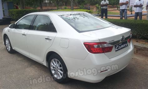 Used Toyota Camry India Toyota Plans New Marketing Caign For Camry No Diesel