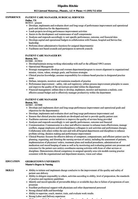 case management resume samples nurse case manager interview