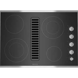 Jenn Air Cooktop jed3430ws jenn air 30 quot downdraft radiant cooktop stainless black slyman brothers appliance
