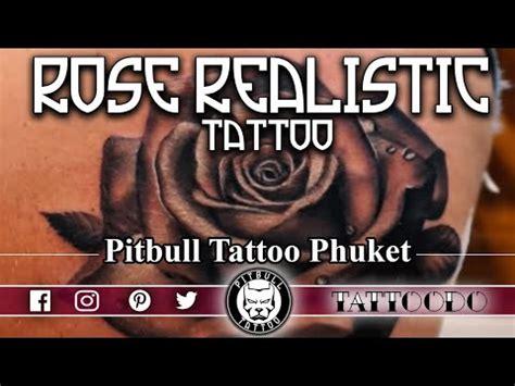 rose tattoo youtube realistic