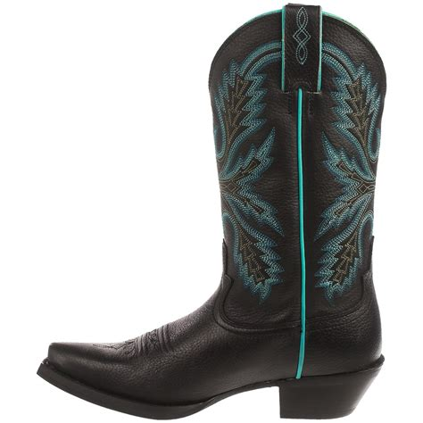 black justin boots justin boots black deercow cowboy boots for save 66