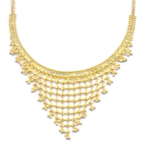 fancy gold necklace bling bling