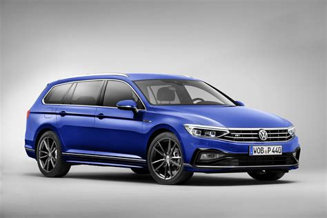 2020 Vw Passat by 2020 Volkswagen Passat Facelift Adds Partially Automated