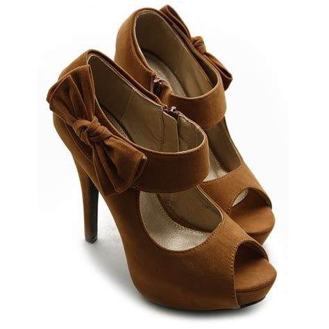 inexpensive high heel shoes cheap open toe high heel shoes with bow for