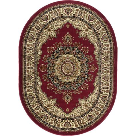 7 X 9 Oval Area Rugs by Tayse Rugs Sensation 6 Ft 7 In X 9 Ft 6 In