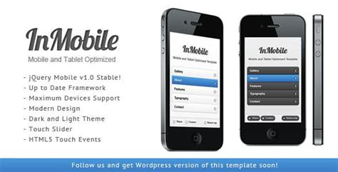 themeforest appbar mobile tablet responsive template themeforest inmobile mobile and tablet responsive