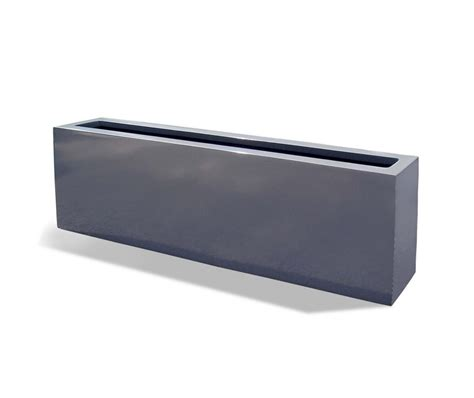 Fiberglass Planters by Cox Narrow Fiberglass Planter Rectaungular Accents
