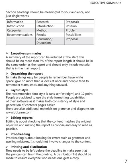 Training Summary Report Template csgczcfecs example of a report structure