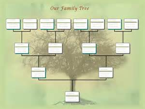 pretty family tree template family tree chart template exle