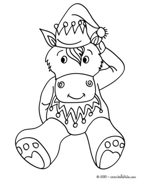 christmas donkey coloring page donkey coloring pages hellokids com