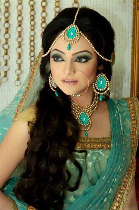Set India Princess Yasmin bangladeshi make up by zahid khan she looks like princess jazmin so pretty indian