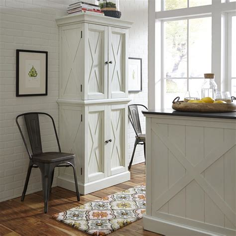 Home Styles Seaside Lodge Hand Rubbed White Kitchen Island | home styles seaside lodge hand rubbed white kitchen pantry