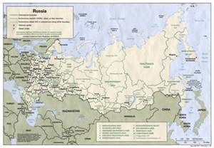 cities of map maps of russia detailed map of russia with cities and