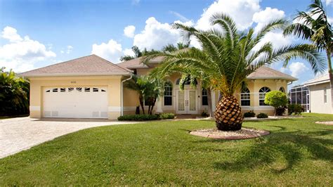 Haus Kaufen In Amerika by Villas Villa Sunset Paradise In Cape Coral Florida