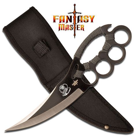 brass knuckle blades chakra blade knuckle guard knife for sale all gear