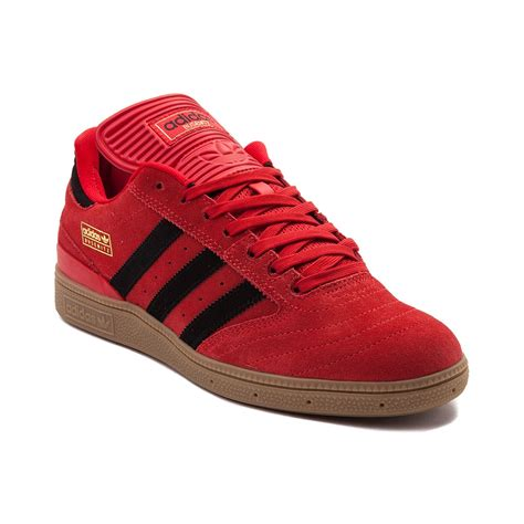 adidas red shoes mens adidas busenitz athletic shoe red 436338