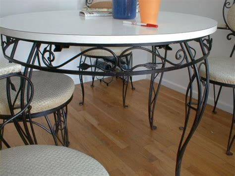 wrought iron kitchen table and chairs kitchen ideas
