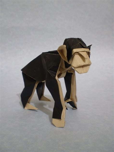 How To Make An Origami Monkey - 82 best images about paper paradise origami on