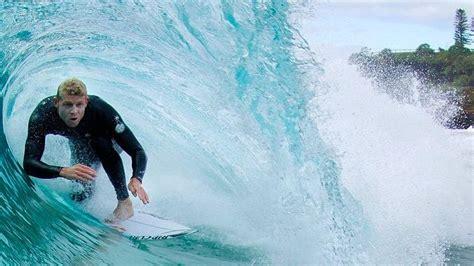 surfer mick fanning survives  shark attack