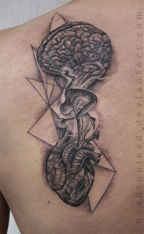 tattoo mandala heart brain heart tattoo mandala google zoeken board