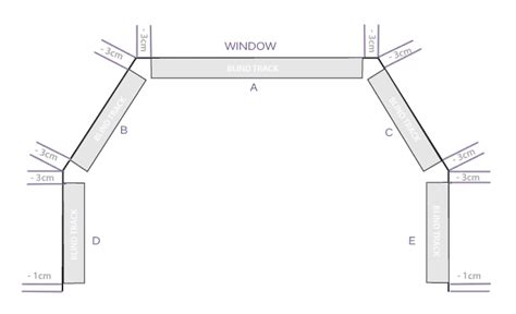 how to measure for bay window curtains roman blinds for bay windows measurement guide