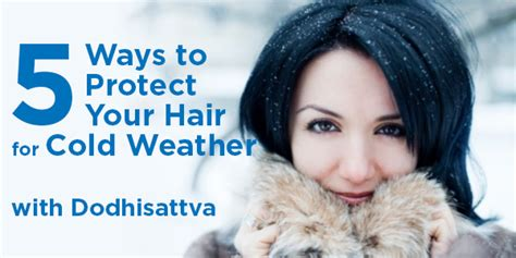 5 ways to protect your hair for cold weather morrocco method