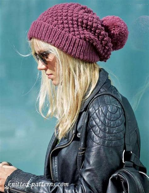 knitting pattern womens hat women s beanie knitting pattern free knitting and