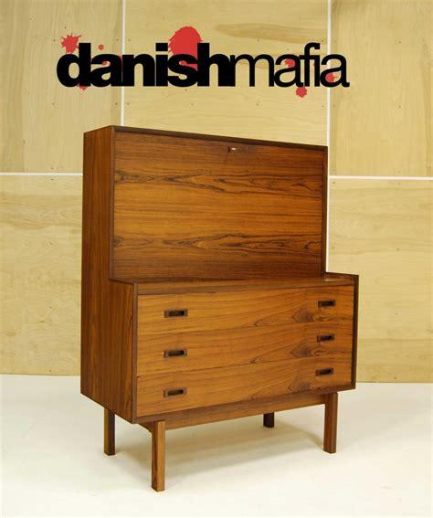 mid century secretary desk mid century danish modern rosewood secretary desk dresser