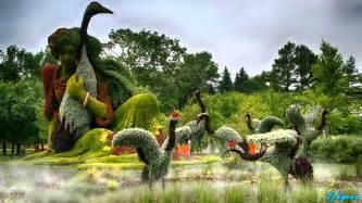 Montréal Botanical Garden Amazing Living Sculptures At Montreal Botanical Garden I Mosaicultures Internationales