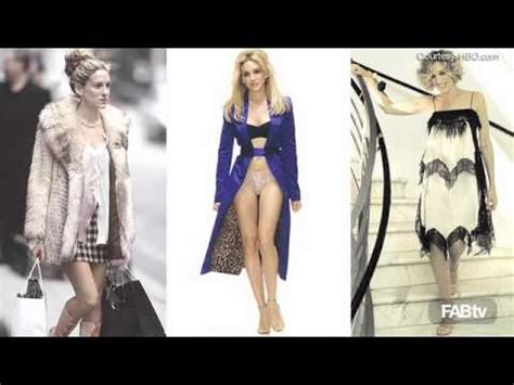 Motley Couture Couture In The City Fashion by Carrie Bradshaw S Top 10 Looks And The City