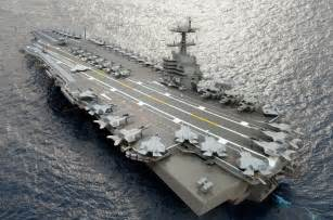 gerald r ford class aircraft carriers modern warships